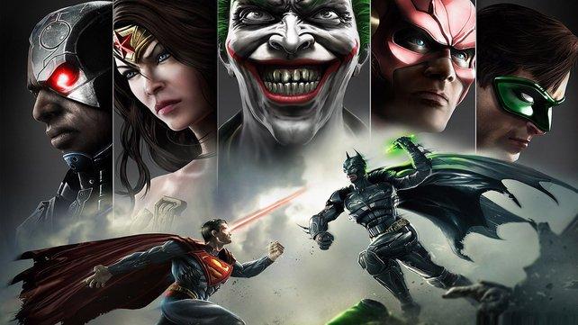 Injustice schickt bekannte Superhelden und Schurken in den Zweikampf.