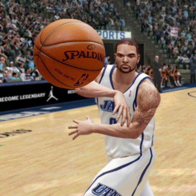 Bei den Gesichtern der Spieler hätten sich die Entwickler mehr Mühe geben können.