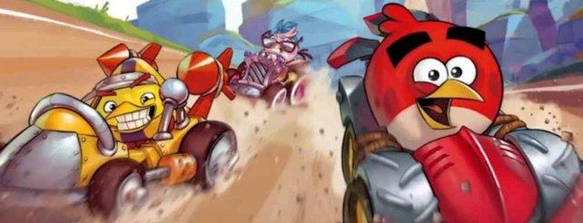 Angry Birds Go!: Kostenfreies Rennspiel für Mobilgeräte (Video)