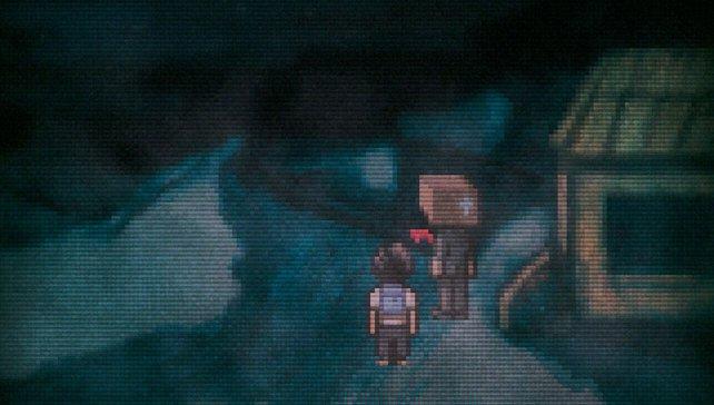 Unheimlich: Der Held kämpft ums Überleben und um seinen Verstand.