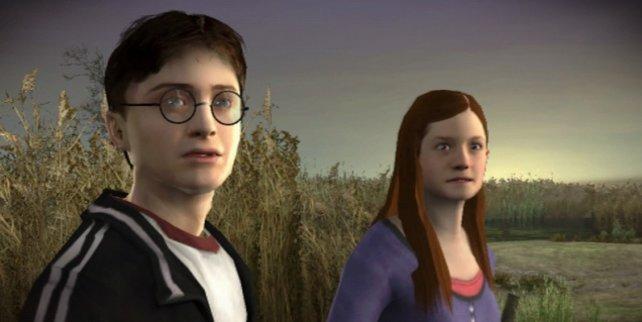 Charakterköpfe: Harry und Ginny sehen aus wie ihre echten Vorbilder.