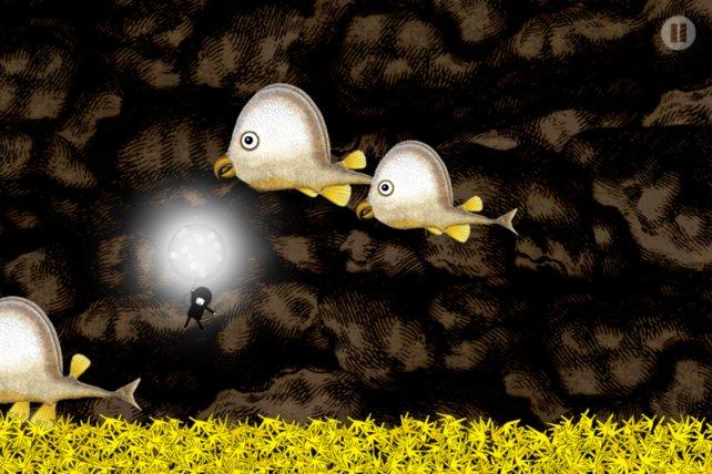Ungewöhnliche Tiere begegnen Sir Benfro auf seinem Ballonflug.