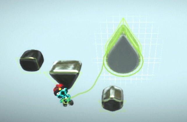 Dank neuer Grafikroutinen überrascht dunkle Materie mit Welleneffekten und editierbarer Animationsgeschwindigkeit.