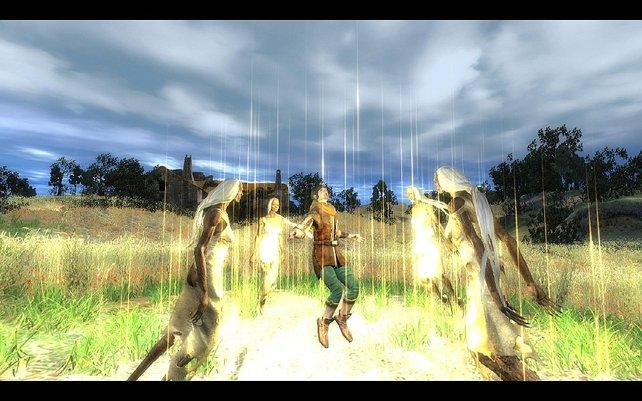 """""""And a Curse, and Love, and Betrayal""""  ist die mit Abstand größte Einzelspieler-Mod für The Witcher."""