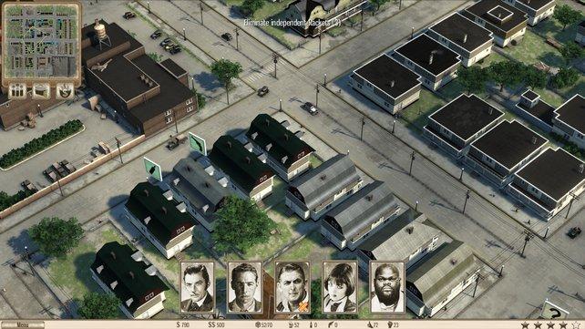 In Omerta sehen viele Häuser absolut gleich aus.