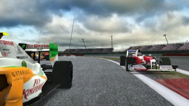 Ein Toyota auf Abwegen, das Team wird es in F1 2010 nicht mehr geben.