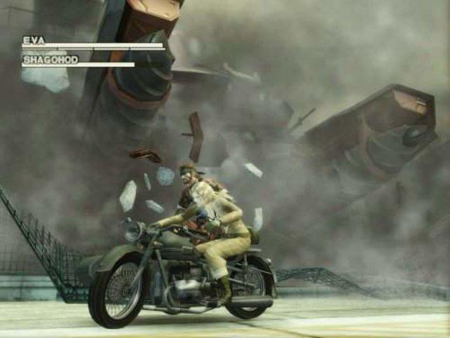 Motorrad fahren will gelernt sein...