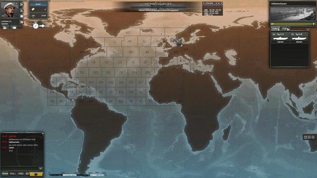Euer Einsatzgebiet erstreckt sich von der Nordsee bis zur amerikanischen Ostküste.