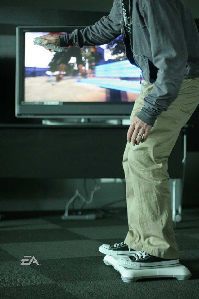 So macht Skaten im Wohnzimmer richtig Spaß.
