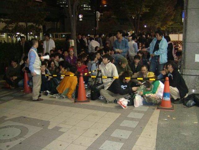 Lange Schlangen bei der Veröffentlichung der PS3 in Japan. Wann dürfen wir in Deutschland campieren?