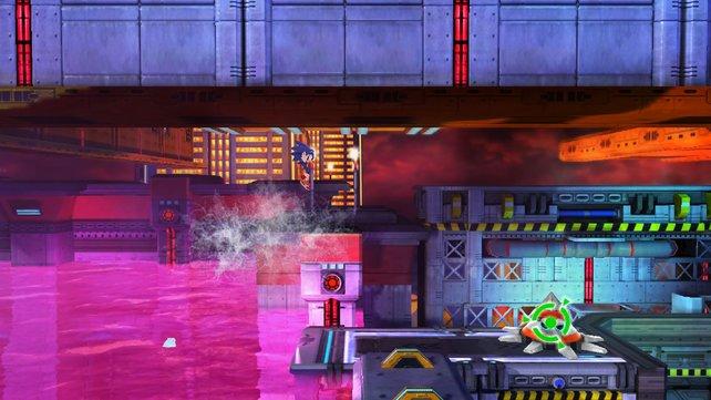 Ertrinken ist auch im neuesten Sonic die wohl gefürchtetste Todesart.