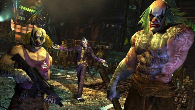 Joker will euch an den Kragen. Und seine Schergen auch.