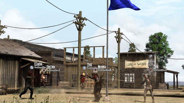 Im Festungs-Modus kämpft ihr ähnlich wie in Battlefield Bad Company 2 um Kontrollpunkte.