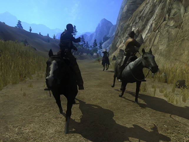 ...Verfolgungen zu Pferd