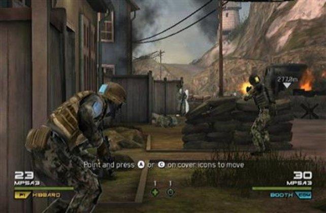 So sieht Ghost Recon auf der Wii aus.