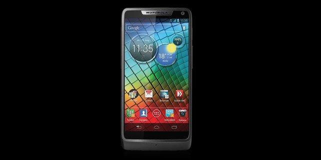 Dünn, schlank, schick: Das Motorola Razr i.