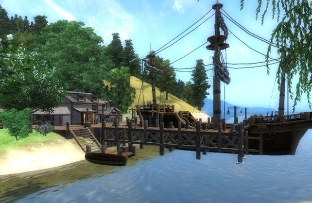 Eine Modifikation ließ die Provinz Hammerfell bereits in Oblivion wieder auftauchen.