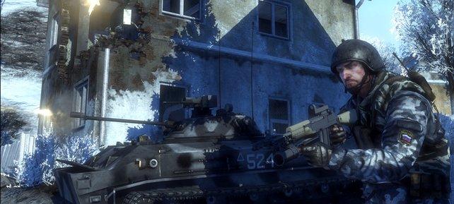 Bad Company 2: Verbesserte Optik, aber weniger spielerische Freiheiten.