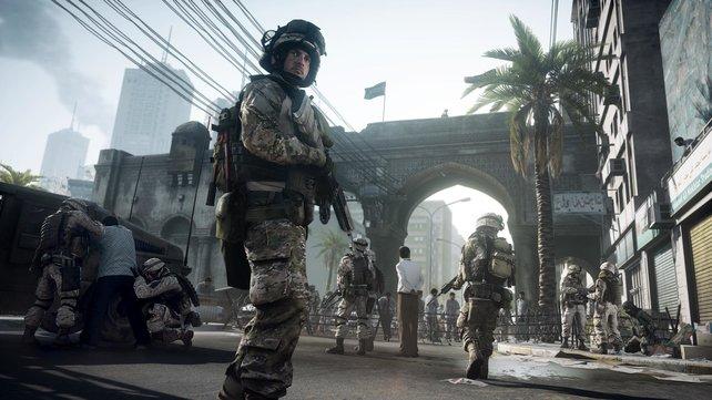 Knackscharfe Texturen - das ist Battlefield 3! Zumindest auf dem PC.