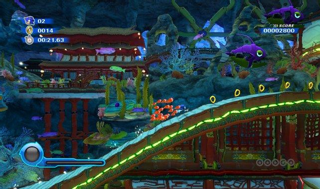 Sonic Colours gehört zu den schönsten Wii-Spielen.