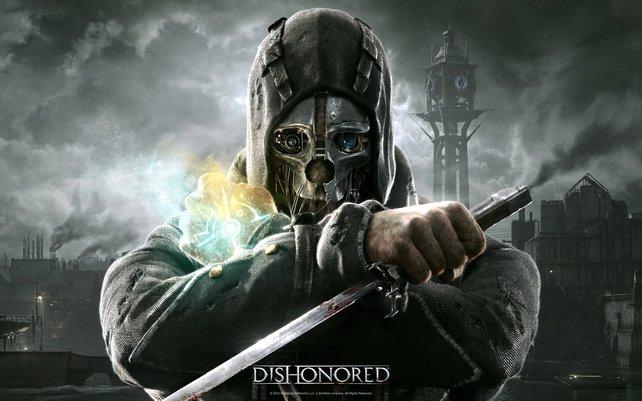 Corvo trägt die namensgebende Maske des Zorns, damit ihn niemand erkennt.