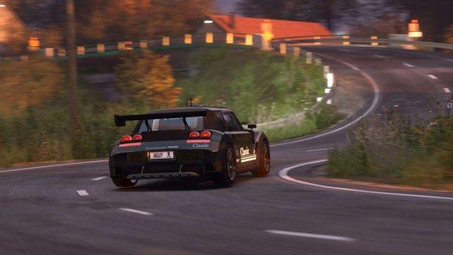 Mit Trackmania 2 - Valley fahrt wir wieder Rennen auf verrückten Pisten.