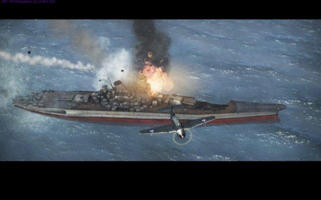 Nachdem wir die Yamato erfolgreich versenkt haben, folgt eine kurze Videosequenz.