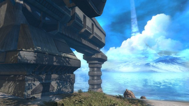 Die Levelarchitektur ist identisch mit Halo: Combat Evolved.