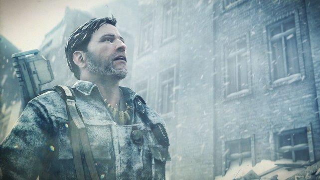 Joseph muss die Welt retten. Gar nicht so einfach bei so einem Wetter.