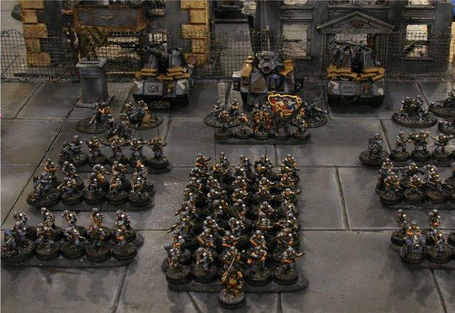 Das Spieluniversum basiert auf einem Brettspiel von Games Workshop.
