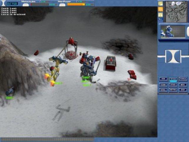 Mit entsprechender Ausrüstung können Combots fliegen