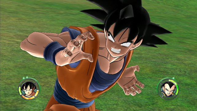 Held Son-Goku gibt sich die Ehre.