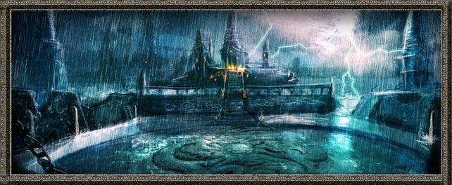 Schwere Stürme plagen euch in der Wasser Arena.