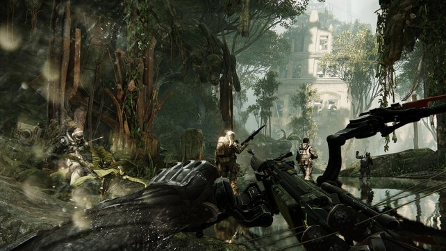 """Crysis 3 nimmt den Begriff """"Großstadtdschungel"""" wörtlich."""