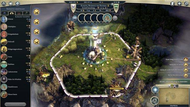 Die Städte spielen eine wichtige Rolle in Age of Wonders 3.