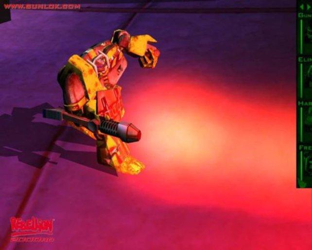 Gunlok enthält gelungene Lichteffekte