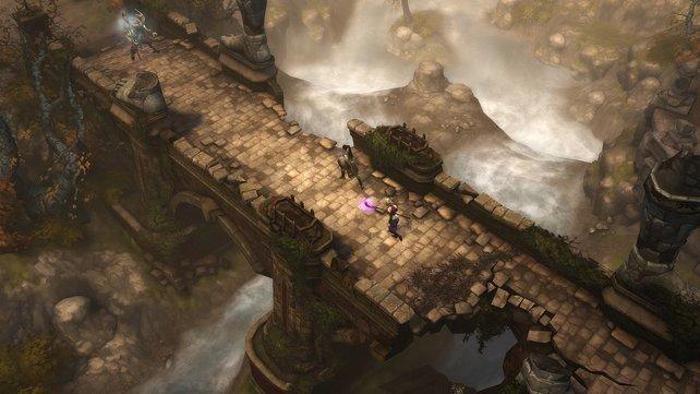 Diablo 3 wirkt auch in 3D hübsch.
