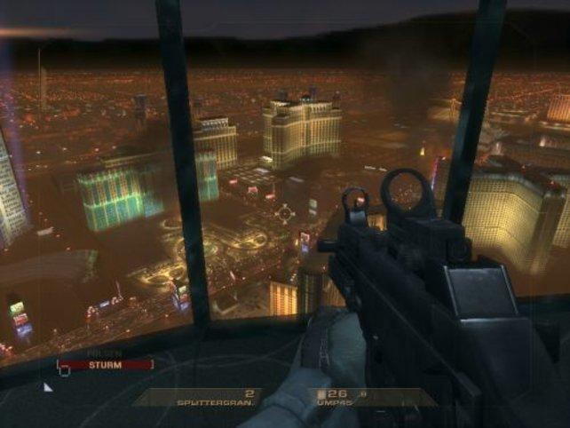 Vegas von oben. Atemberaubend!