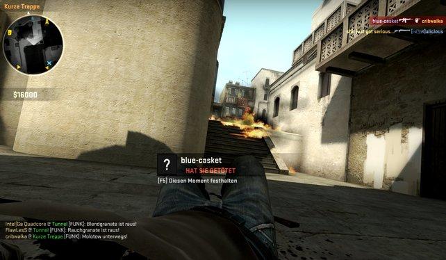 Brandgranaten hindern Gegner effektiv daran, vorzurücken.