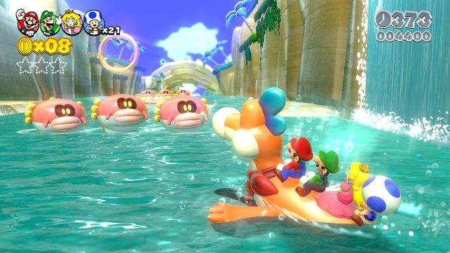 Selten gab es in einem Spiel so schönes virtuelles Wasser.