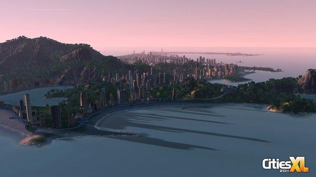 Bis Eure Stadt diese Größe erreicht hat, dauert es eine Weile.