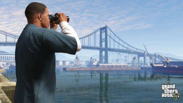 Weitsicht auch ohne Fernglas verspricht Rockstar für GTA V.
