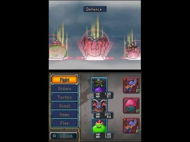 Magie-Attacken, Verbesserungen und Heilzauber - das erinnert an Final Fantasy.