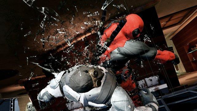 Wenn Deadpool loslegt, geht Einiges zu Bruch.