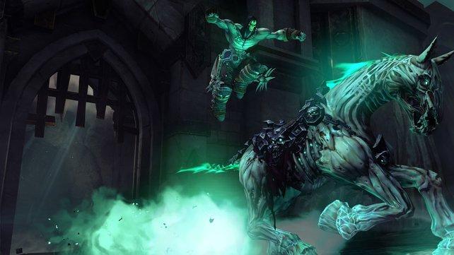 Wie in Ocarina of Time, aber untot: das treue Ross des Helden.
