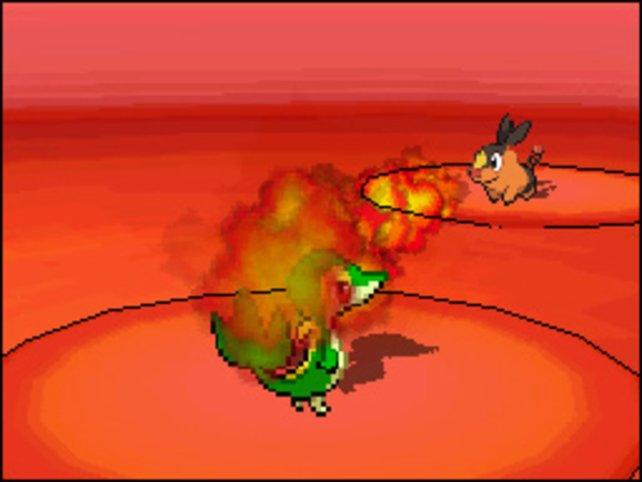 Die Kämpfe überzeugen spielerisch, aber enttäuschen durch ihre pixelige Gestaltung.