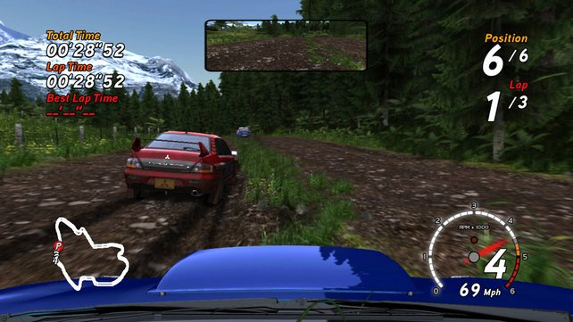 Im Fahrercockpit wird die Simulation noch realistischer