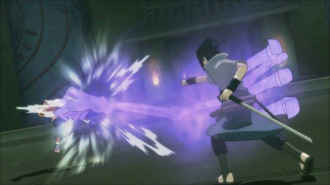 Wo Sasukes Susano'o hinhaut, da wächst kein Gras mehr.