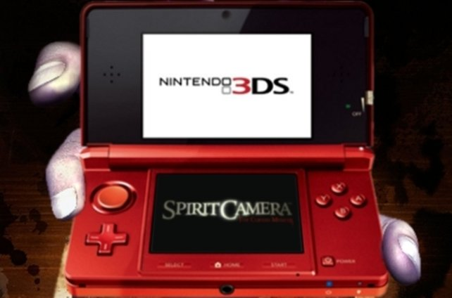 Der Hauptpreis, ein Nintendo 3DS mit Spirit Camera.
