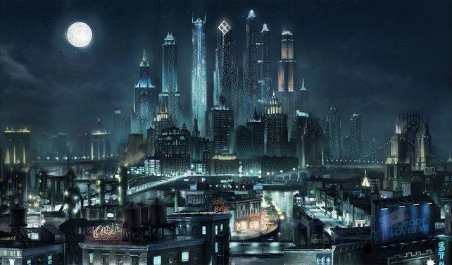 Ciao Stillwater, hallo Steelport: Ihr seht die neue Metropole.